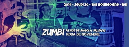 zumbi,capoeira,orleans,108,filhos de angola,