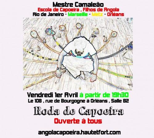 roda,filhos de angola orléans,n'angola capoeira